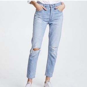 Citizens of Humanity Liya Jeans in wash Torn